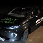 Ein Hingucker: Der Renault Zoe bereitgestellt vom Autohaus Hermann aus Göttingen