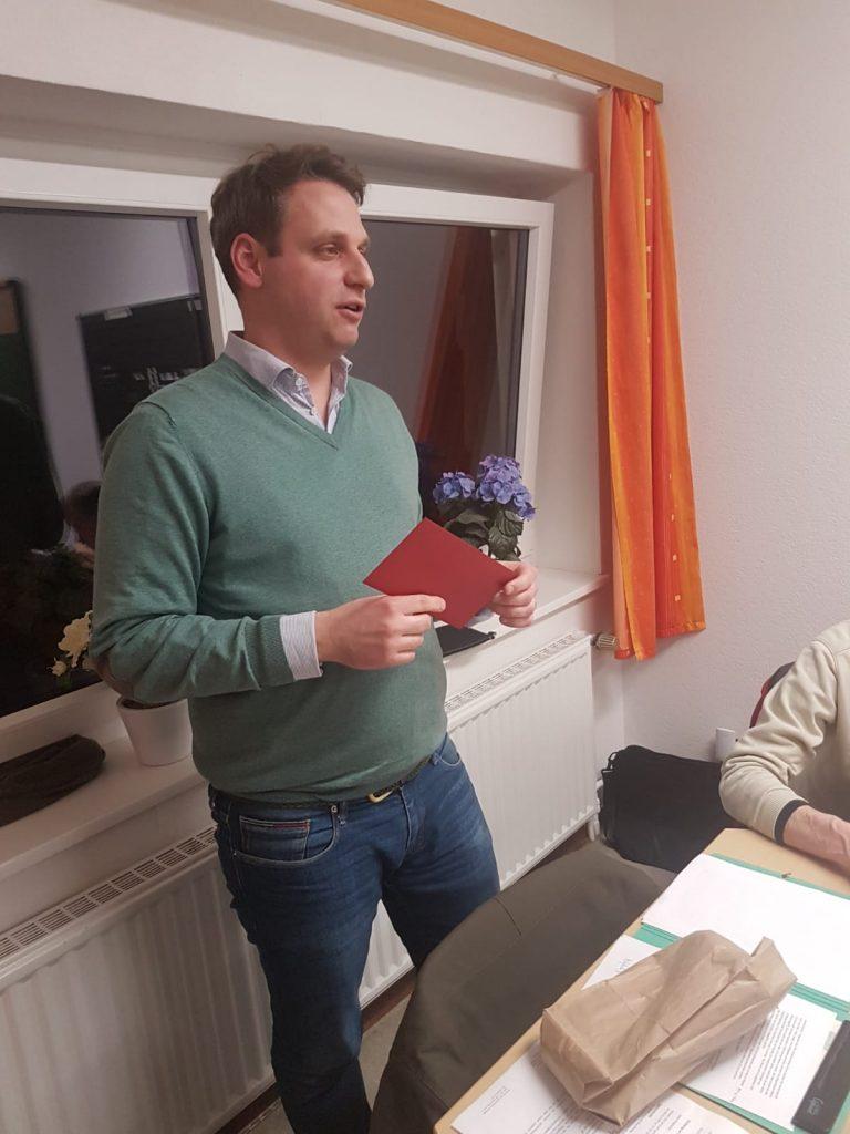 Impressionen der Jahreshauptversammlung 2020 des Klein  Schneen Mobil e.V.