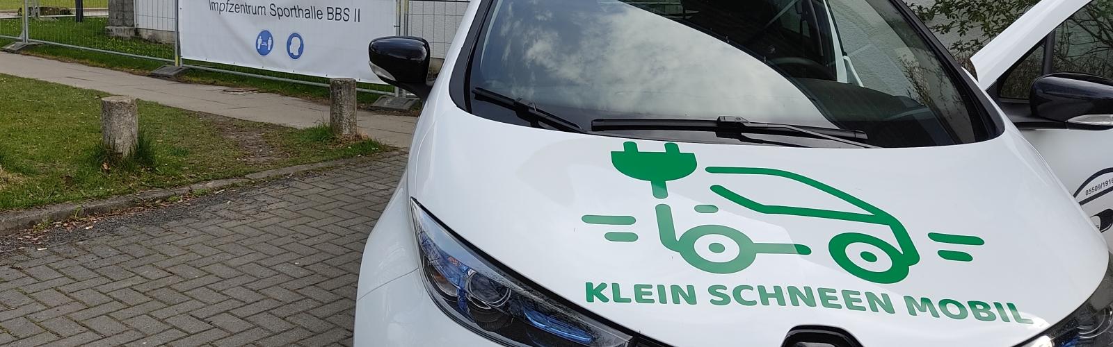 Mit dem E-Auto von Klein Schneen Mobil zur Impfung
